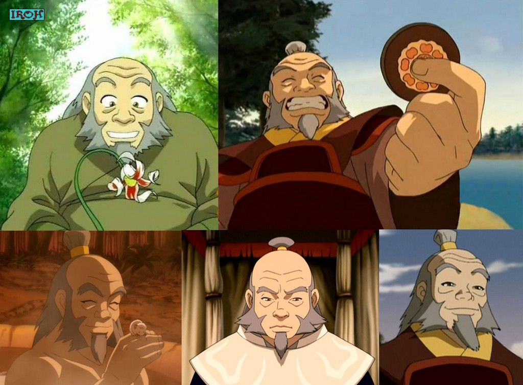 Personnages principaux iroh