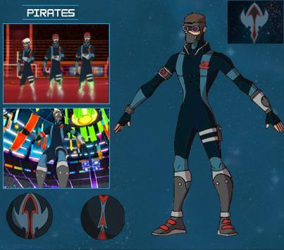Les pirates centerblog - Equipe galactik football ...